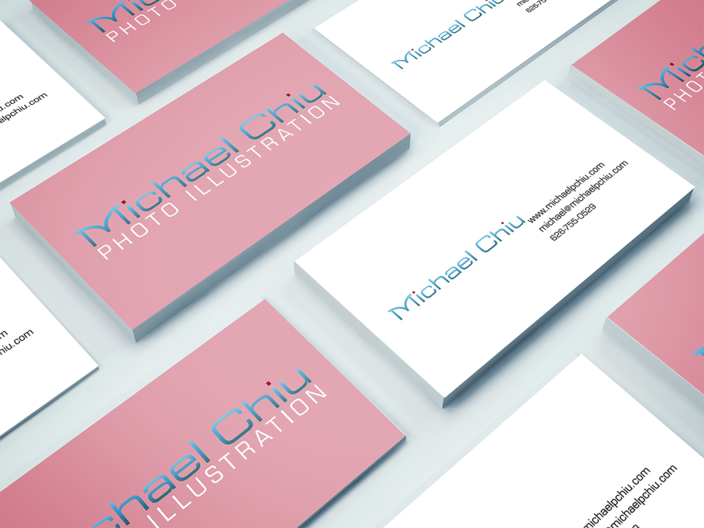 Michael P Chiu Photography Business Card by Alvalyn Lundgren