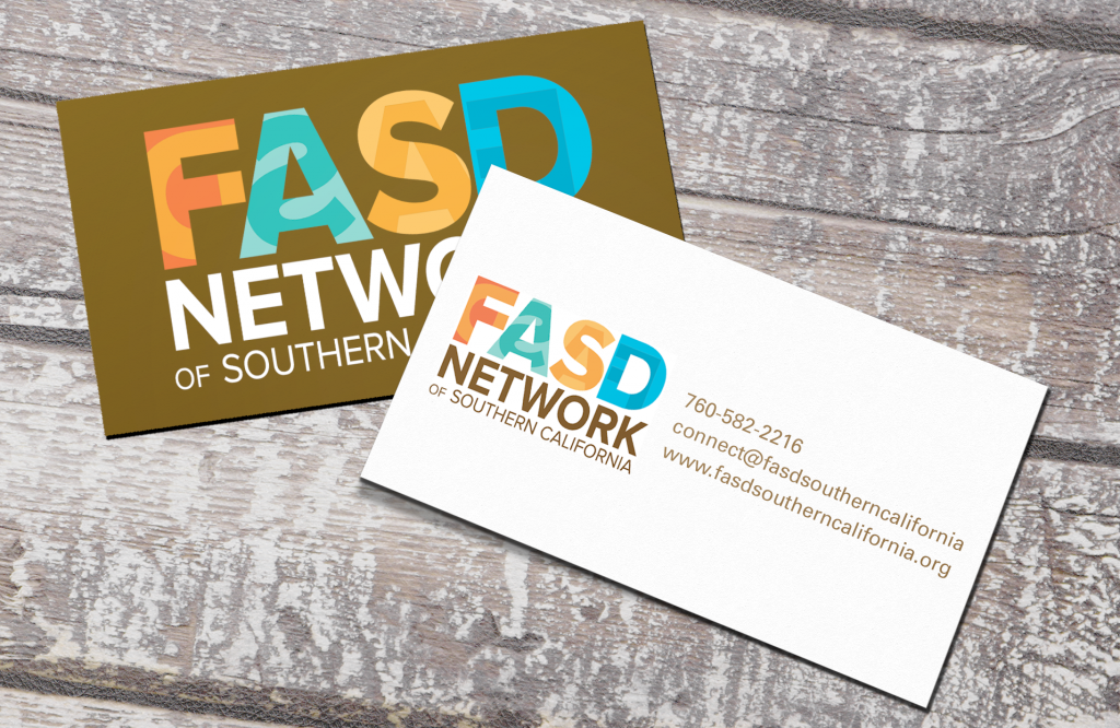 FASD Network of Southern California Business Card by Alvalyn Lundgren