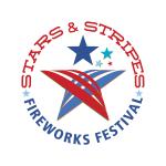 Stars & Stripes Fireworks Festival Identity by Alvalyn Lundgren