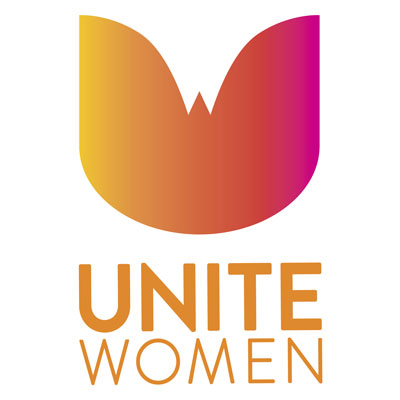 Unite Women brand identity by Alvalyn Lundgren